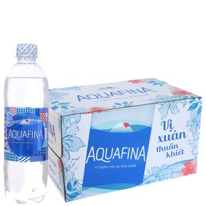 Thùng 24 chai nước tinh khiết Aquafina 500ml