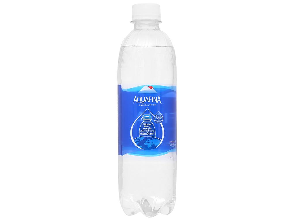 Thùng 24 chai nước tinh khiết Aquafina 500ml 4