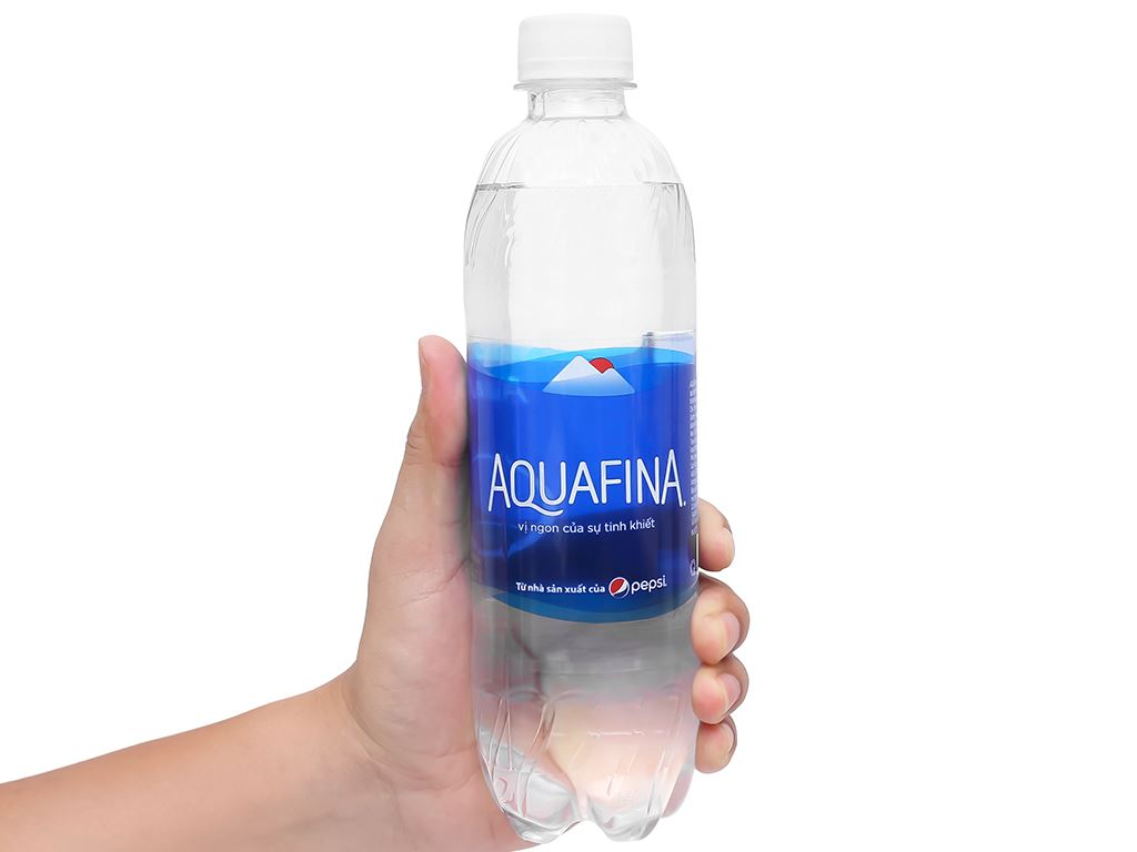 Thùng 24 chai nước tinh khiết Aquafina 500ml 6