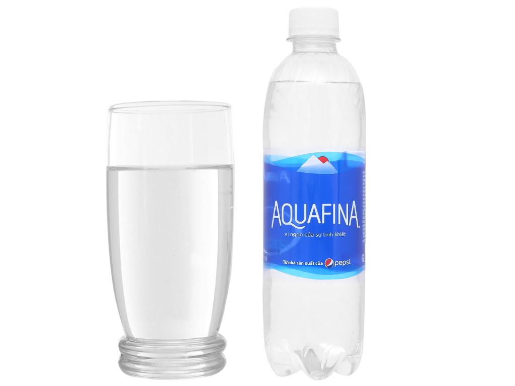 Thùng 24 chai nước tinh khiết Aquafina 500ml 7