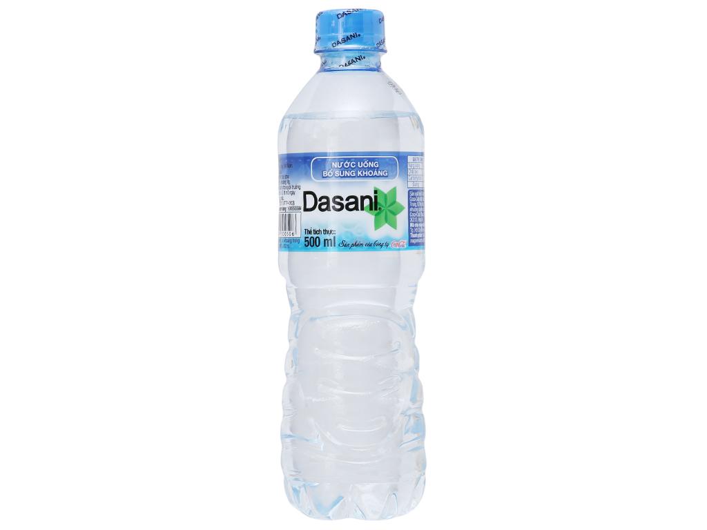 Nước khoáng Dasani 500ml 2
