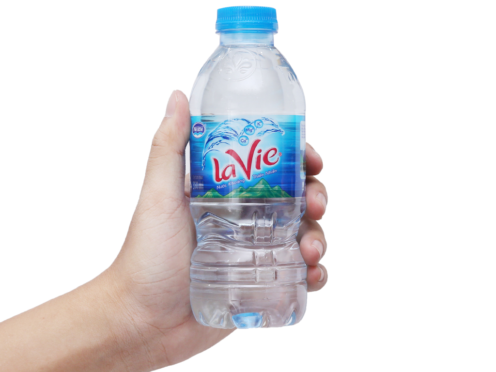 Nước khoáng La Vie 350ml 5