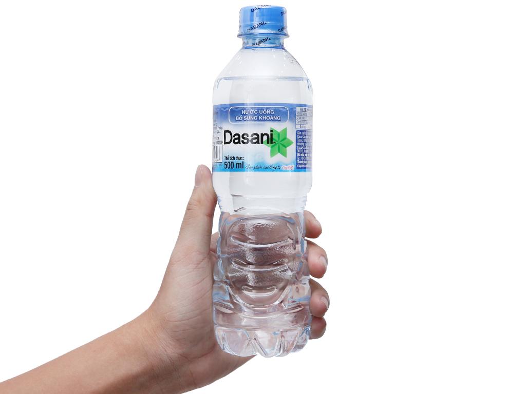 24 chai nước khoáng Dasani 500ml 4