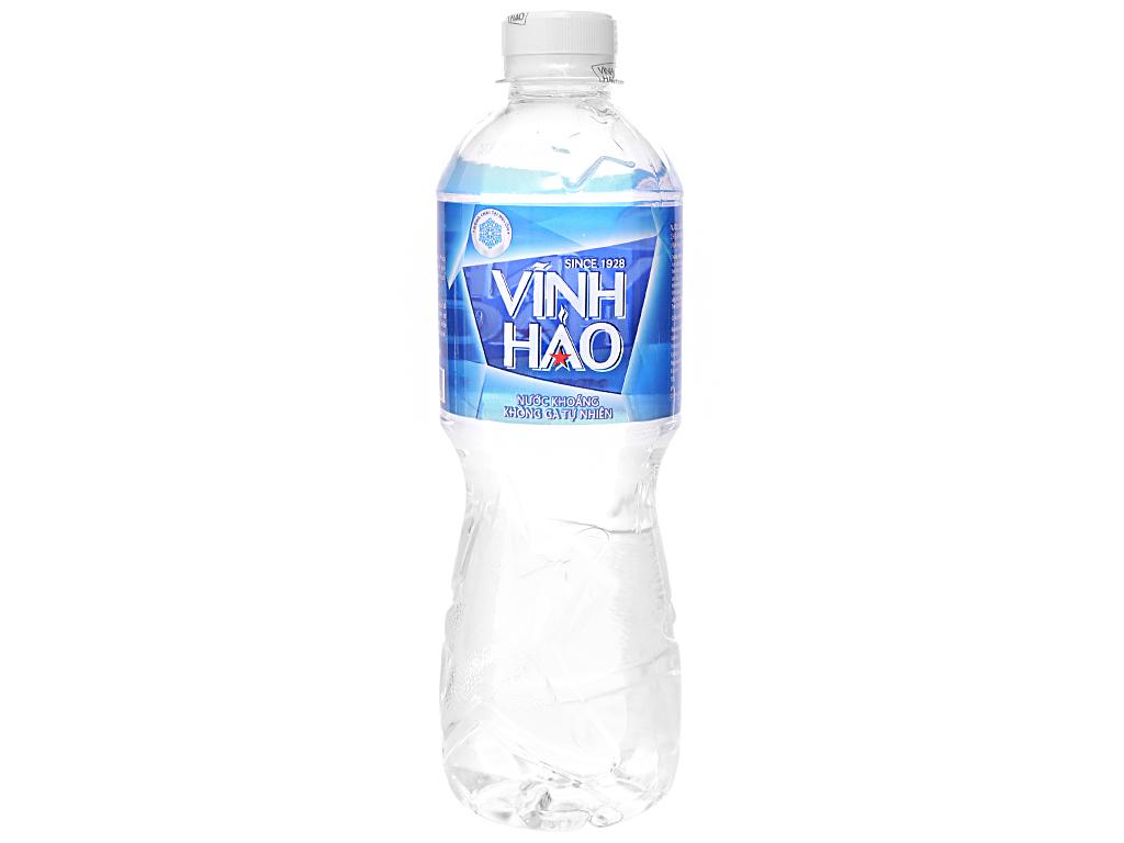 Thùng 24 chai nước khoáng Vĩnh Hảo 500ml 2