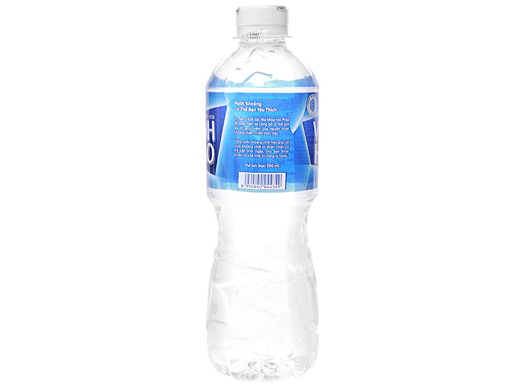 Thùng 24 chai nước khoáng Vĩnh Hảo 500ml 3