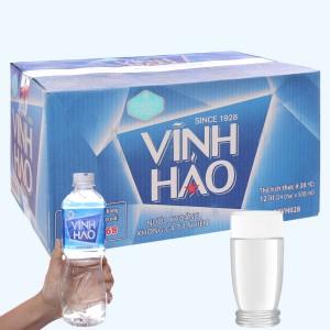 Thùng 24 chai nước khoáng Vĩnh Hảo 500ml