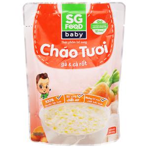 Cháo tươi gà cà rốt SG Food gói 240g