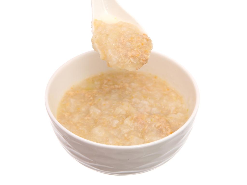 Cháo tươi bò đậu hà lan cà rốt SG Food gói 240g 5
