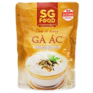 Cháo tươi gà ác hầm nhân sâm Hàn Quốc SG Food gói 240g