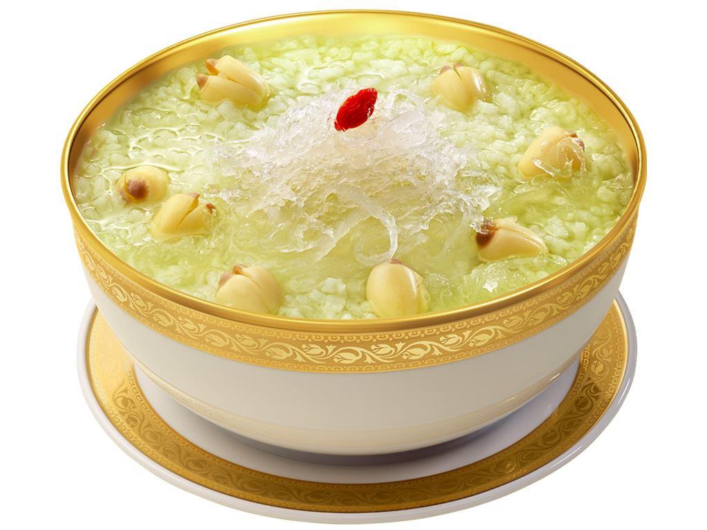 Cháo bổ dưỡng SG Food tổ yến hạt sen lá dứa gói 240g 3