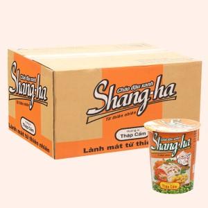 Thùng 24 ly cháo đậu xanh thập cẩm Shangha 50g