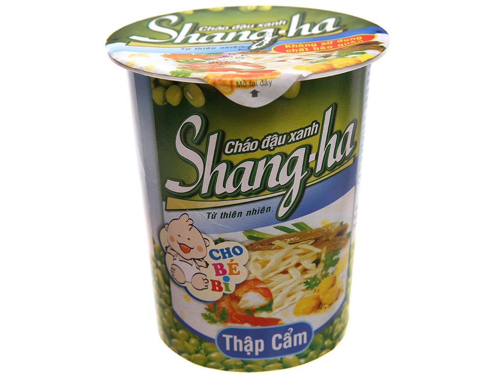 Thùng 24 ly cháo đậu xanh thập cẩm Shangha ly 50g 2