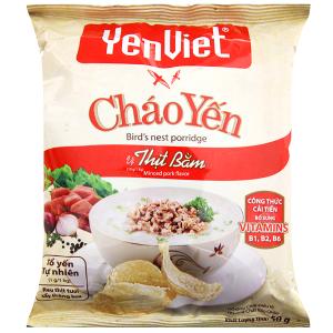 Cháo yến thịt bằm Yến Việt gói 50g