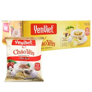 Thùng 30 gói cháo yến Yến Việt vị thịt bằm 50g