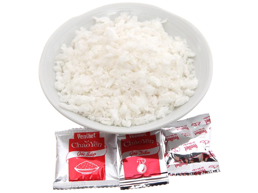 Thùng 30 gói cháo yến chay rau nấm Yến Việt 50g 6