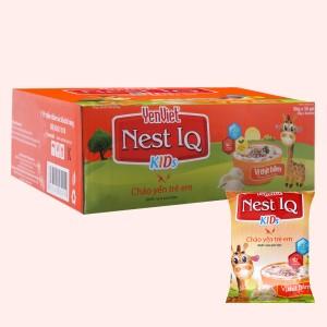 Thùng 30 gói cháo yến trẻ em Yến Việt Nest IQ Kids thịt bằm 50g