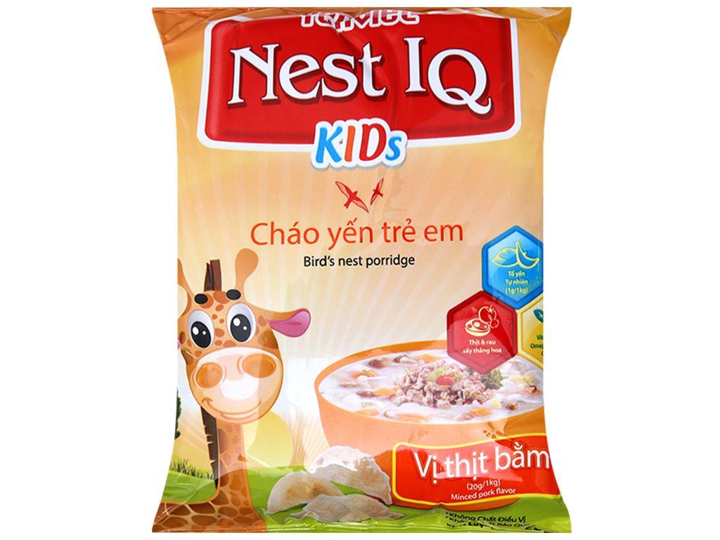 Thùng cháo yến trẻ em thịt bằm Yến Việt gói 50g (30 gói) 3