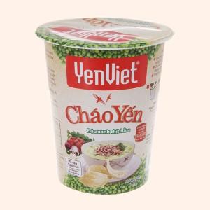 Cháo yến Yến Việt đậu xanh thịt bằm ly 50g