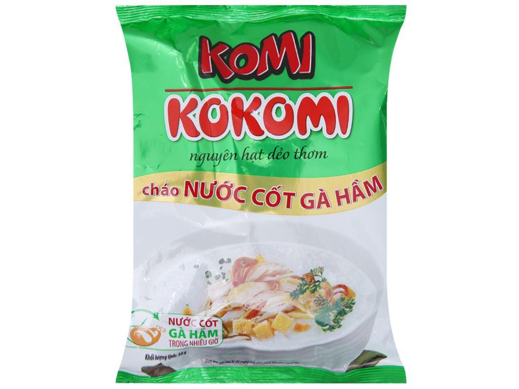 Cháo nước cốt gà hầm Komi gói 50g 2