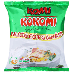 Cháo nước cốt gà hầm Komi gói 50g