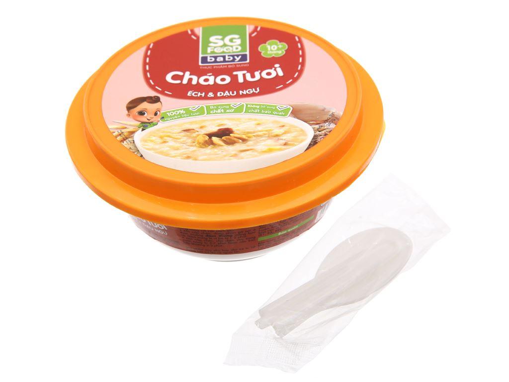 Cháo tươi SG Food Baby ếch và đậu ngự hộp 240g 3