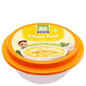 Cháo tươi gà thảo mộc hạt sen SG Food hộp 240g