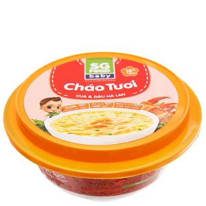 Cháo tươi cua đậu Hà Lan SG Food hộp 240g