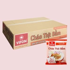 Thùng 50 gói cháo thịt bằm Vifon 70g (có gói thịt bằm thật)