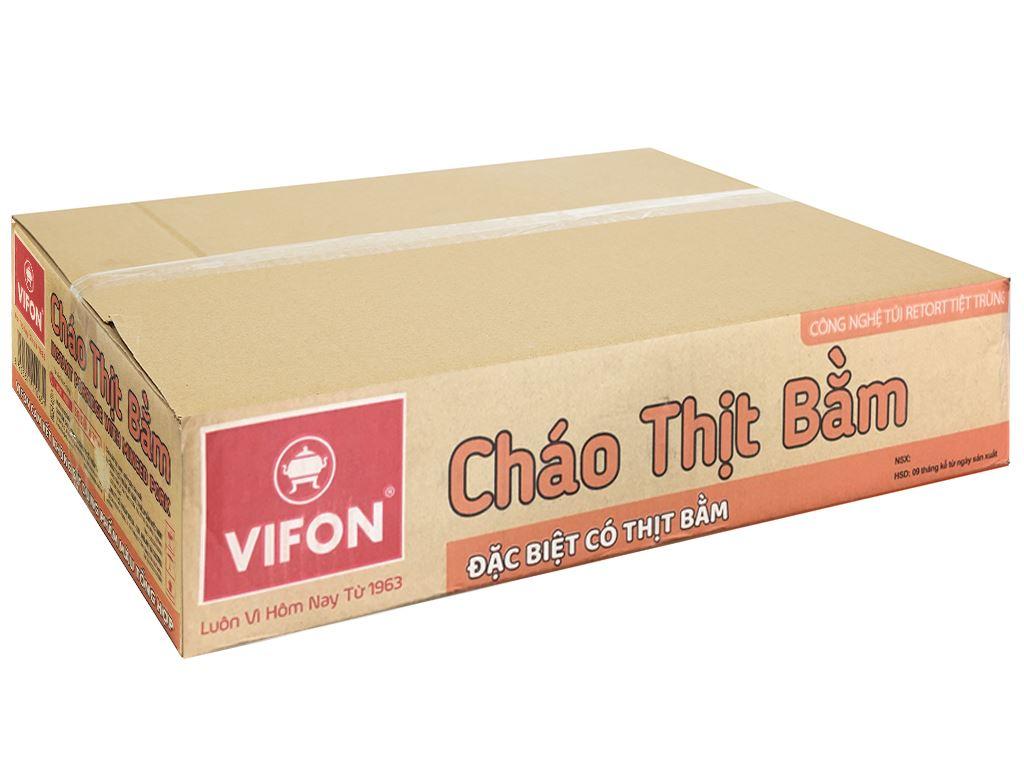Thùng 50 gói cháo thịt bằm Vifon 70g (có gói thịt bằm thật) 1