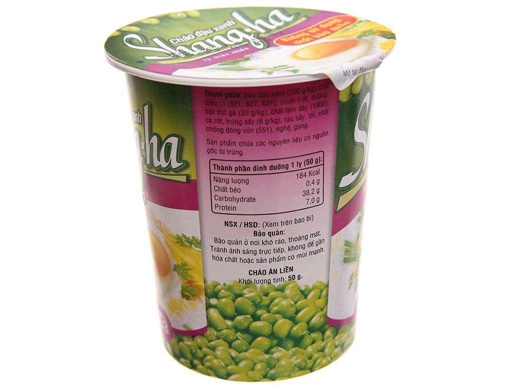 Thùng 24 ly cháo đậu xanh trứng gà Shangha 50g 4