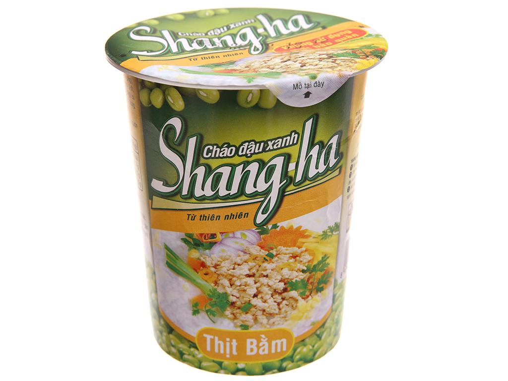24 ly cháo đậu xanh thịt bằm Shangha ly 50g 2