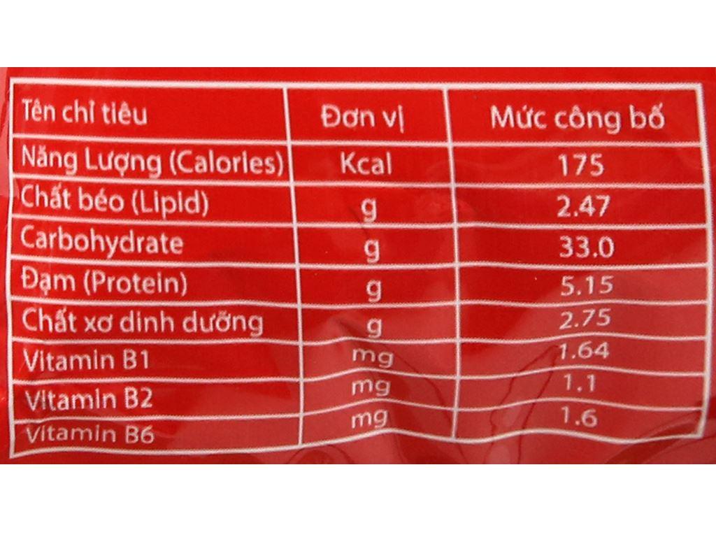 Thùng 30 gói cháo đông trùng hạ thảo Yến Việt vị thịt bằm 50g 8