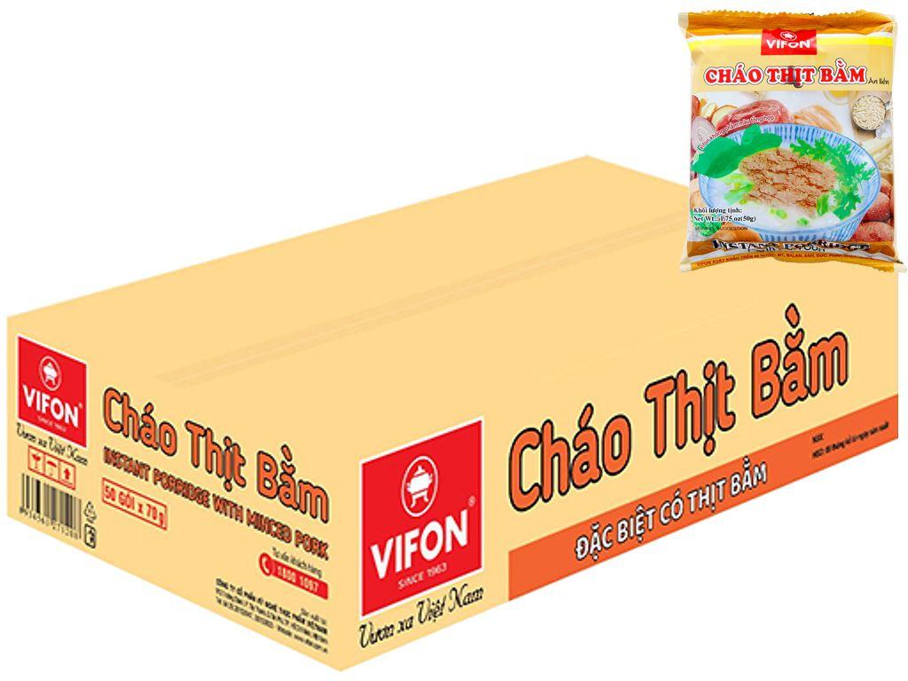 50 gói cháo thịt bằm Vifon gói 50g 1