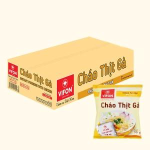 Thùng 50 gói cháo thịt gà Vifon 70g (có gói thịt gà thật)