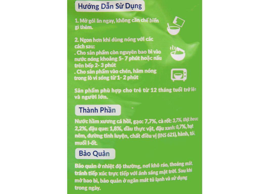 Cháo tươi thịt thăn rau củ SG Food gói 270g 4