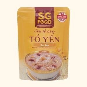 Cháo bổ dưỡng SG Food tổ yến bát bảo gói 240g