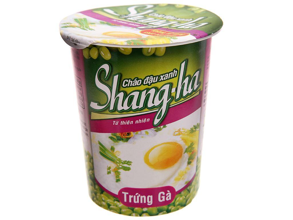 Cháo đậu xanh trứng gà Shangha ly 50g 2