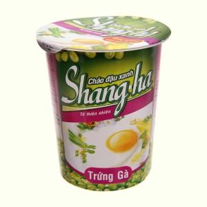 Cháo đậu xanh trứng gà Shangha ly 50g