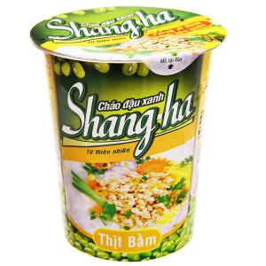 Cháo đậu xanh Shangha vị thịt bằm ly 50g