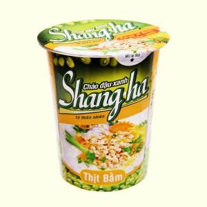 Cháo đậu xanh thịt bằm Shangha ly 50g
