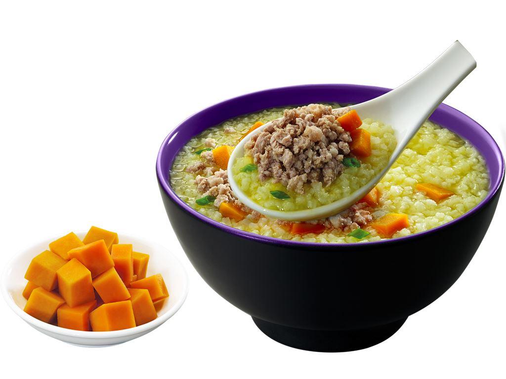 Cháo tươi SG Food thịt thăn bằm bí đỏ gói 270g 6