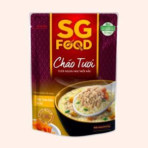 Cháo tươi SG Food thịt thăn bằm bí đỏ gói 270g