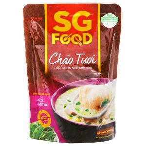 Cháo tươi cá lóc cải bó xôi SG Food gói 270g