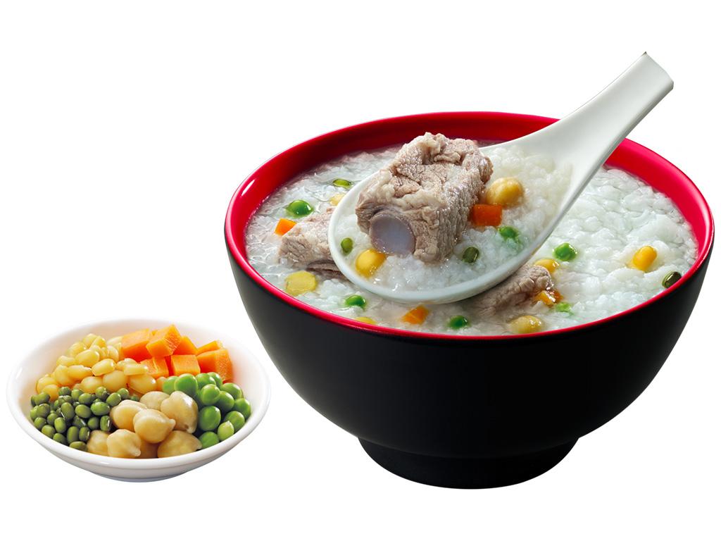 Cháo tươi SG Food sườn non ngũ đậu gói 270g 6