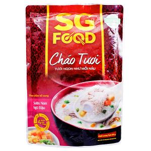 Cháo tươi sườn non ngũ đậu SG Food gói 270g