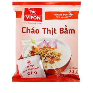 Cháo thịt bằm Vifon gói 70g (có gói thịt bằm thật)