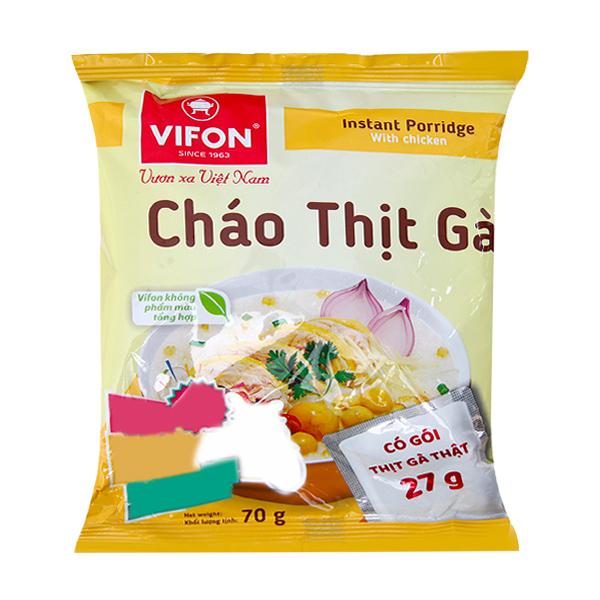 Cháo thịt gà Vifon gói 70g