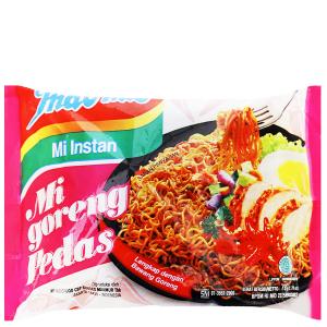 Mì xào khô Indomie Mi Goreng Pedas cay nồng gói 79g