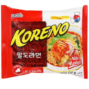 Mì Koreno vị kim chi gói 100g