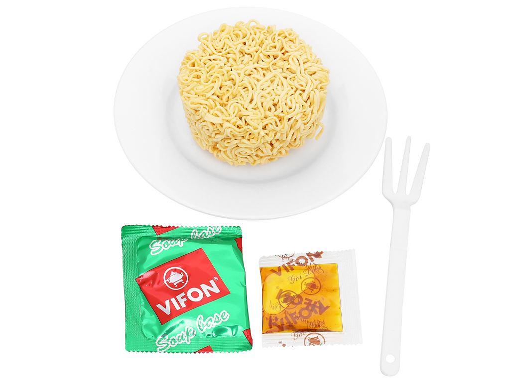 Mì Vifon Ngon Ngon tôm chua cay ly 60g 7